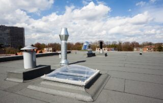 commerical roof leaks roof contractor essex md - Claddagh Construction